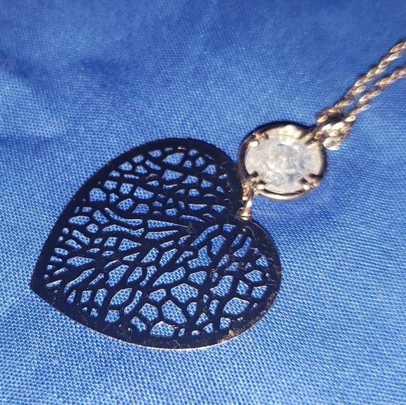 Lauren conrad 32inch necklace heart pendant
